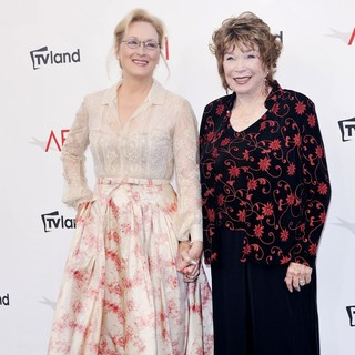 Meryl Streep, Shirley MacLaine in The 40th AFI Life Achievement Award Honoring Shirley MacLaine