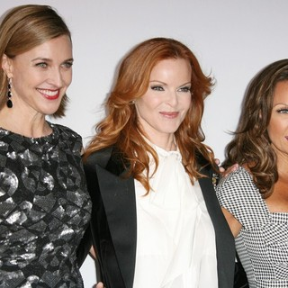 Brenda Strong, Marcia Cross, Vanessa Williams in Desperate Housewives Final Season Kick-Off Party
