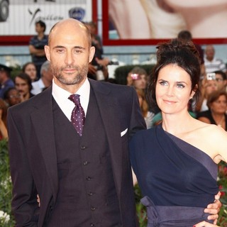 Mark Strong, Liza Marshall in The 68th Venice Film Festival - Day 6 - Tinker, Tailor, Soldier, Spy - Premiere