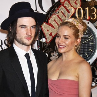 Tom Sturridge, Sienna Miller in The 67th Annual Tony Awards - Arrivals