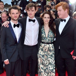 Tom Sturridge, Sam Riley, Kristen Stewart, Danny Morgan in On the Road Premiere - During The 65th Cannes Film Festival