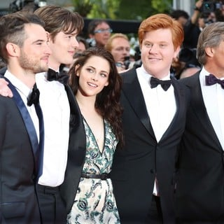 Tom Sturridge, Sam Riley, Kristen Stewart, Danny Morgan, Viggo Mortensen in On the Road Premiere - During The 65th Cannes Film Festival