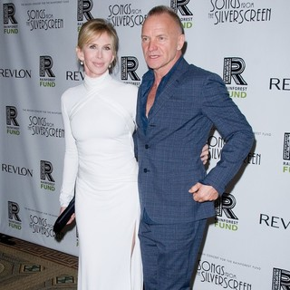 Trudie Styler, Sting in The 2012 Concert for The Rainforest Fund Afterparty - Arrivals
