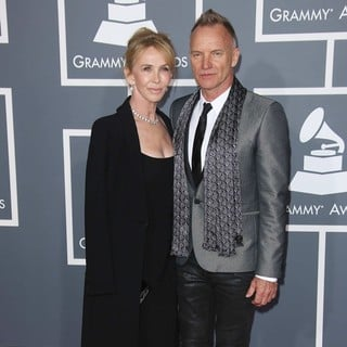 Trudie Styler, Sting in 55th Annual GRAMMY Awards - Arrivals