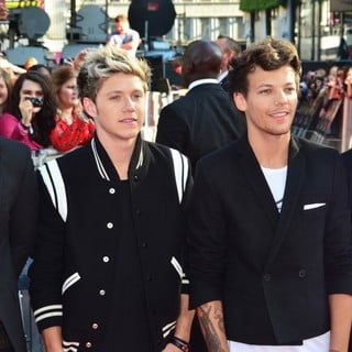 Harry Styles, Niall Horan, Louis Tomlinson, Zayn Malik, One Direction in World Premiere of One Direction: This Is Us - Arrivals