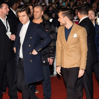 Harry Styles, Liam Payne, One Direction in The 15th NRJ Music Awards - Arrivals