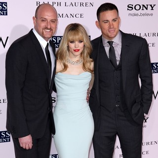 Michael Sucsy, Rachel McAdams, Channing Tatum in The Vow Los Angeles Premiere