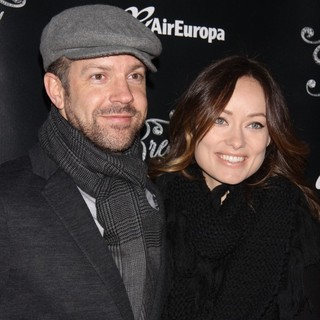 Jason Sudeikis, Olivia Wilde in Opening Night of Breakfast at Tiffany's - Arrivals