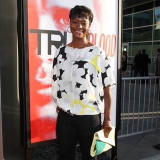 Sufe Bradshaw in Los Angeles Premiere for The Fifth Season of HBO's Series True Blood - Arrivals