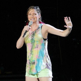 Jennifer Nettles, Sugarland in Sugarland Perform During The In Your Hands Tour