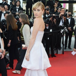 Suki Waterhouse in The 67th Annual Cannes Film Festival - The Homesman - Premiere Arrivals