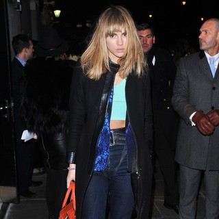 Suki Waterhouse in The BRIT Awards 2013 - Warner Brothers Party - Arrivals