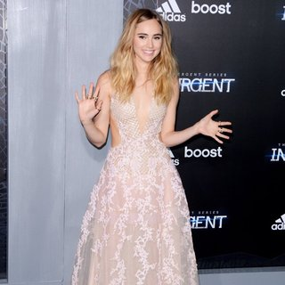 Suki Waterhouse in US Premiere of The Divergent Series: Insurgent - Red Carpet Arrivals