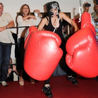 Michael Lohan, Nadya Suleman in Big Bang Celebrity Boxing Match