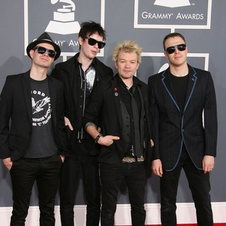 Sum 41 in 54th Annual GRAMMY Awards - Arrivals