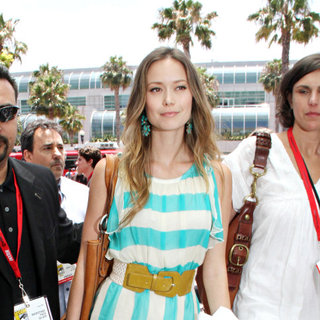 Summer Glau in Out and About at Comic-Con 2010 - Day 3