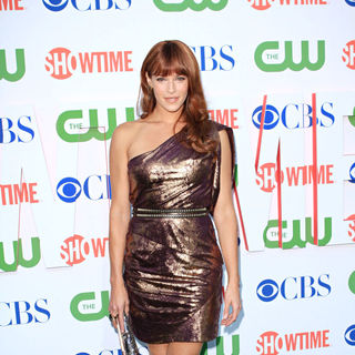 Amanda Righetti in 2010 CBS, CW, Showtime Summer Press Tour Party
