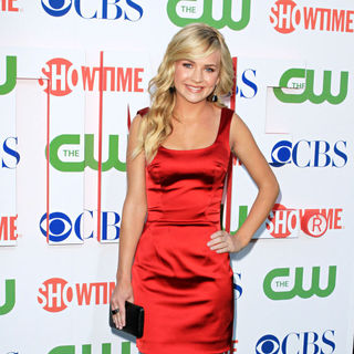 Brittany Robertson in 2010 CBS, CW, Showtime Summer Press Tour Party
