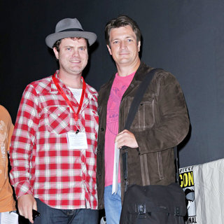 Rainn Wilson, Nathan Fillion in Comic Con 2010 - Day 2 - Super' Press Conference