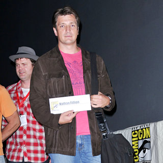 Nathan Fillion in Comic Con 2010 - Day 2 - Super' Press Conference