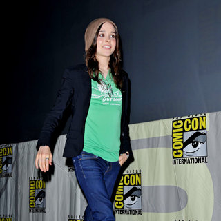 Ellen Page in Comic Con 2010 - Day 2 - 'Super' Press Conference