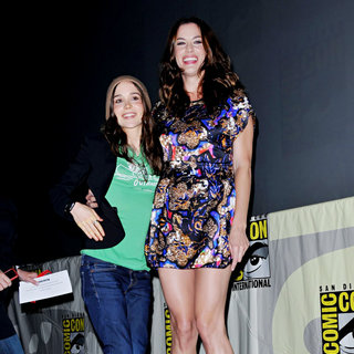 Ellen Page, Liv Tyler in Comic Con 2010 - Day 2 - 'Super' Press Conference
