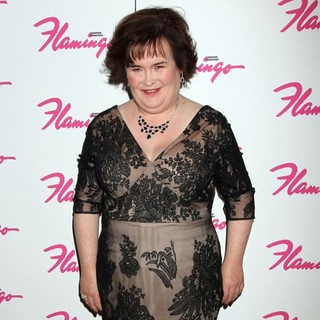 Susan Boyle in Susan Boyle Makes A Guest Appearance at The Donny and Marie Show