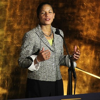 Susan Rice in International Jazz Day Sunset Concert