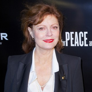 Susan Sarandon in Artists for Peace and Justice 2013 Holiday Benefit