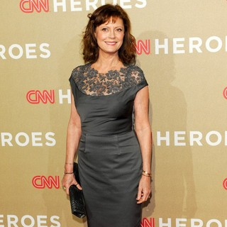 Susan Sarandon in CNN Heroes: An All-Star Tribute - Arrivals - susan-sarandon-cnn-heroes-an-all-star-tribute-03