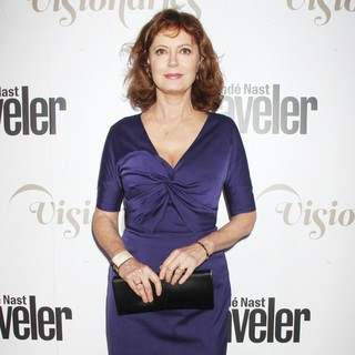 Susan Sarandon in The Conde Nast Traveler Celebration of The Visionaries and 25 Years of Truth in Travel