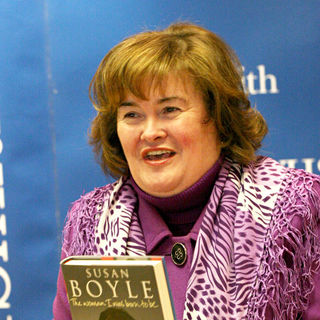 Susan Boyle Promoting and Signing Copies of Her New Book 'The Woman I Was Born To Be'