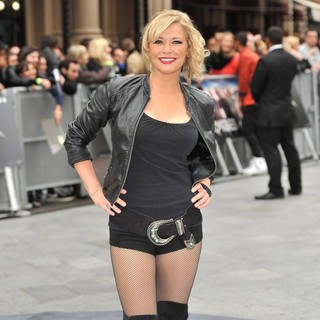 Suzanne Shaw in The UK Premiere of Rock of Ages