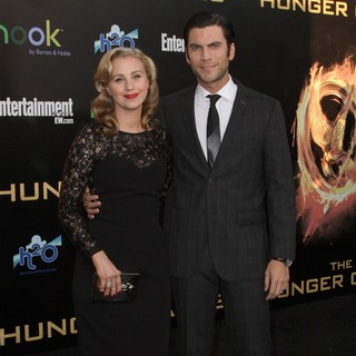 Jacqui Swedberg, Wes Bentley in Los Angeles Premiere of The Hunger Games - Arrivals