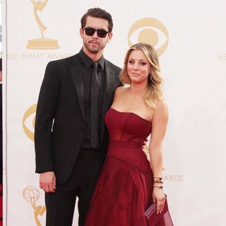 Ryan Sweeting, Kaley Cuoco in 65th Annual Primetime Emmy Awards - Arrivals