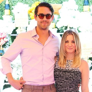 Ryan Sweeting, Kaley Cuoco in The Fourth-Annual Veuve Clicquot Polo Classic