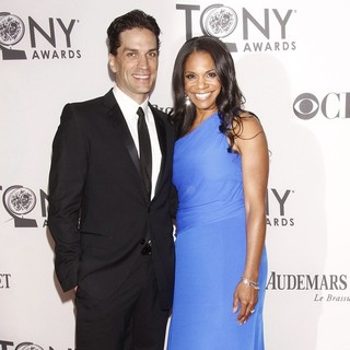 Will Swenson, Audra McDonald in The 66th Annual Tony Awards - Arrivals