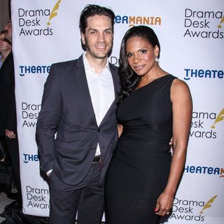 Will Swenson, Audra McDonald in 2014 Drama Desk Awards - Arrivals