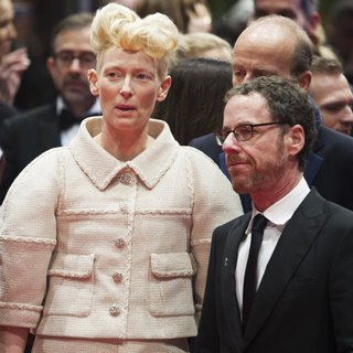 Tilda Swinton, Ethan Coen in The 66th Annual International Berlin Film Festival - Opening Gala