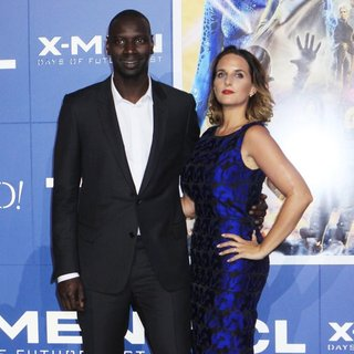 Omar Sy, Helene Sy in X-Men: Days of Future Past World Premiere - Arrivals
