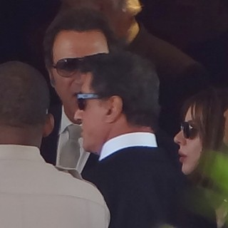 Sylvester Stallone in The Funeral of Sage Stallone
