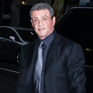 Sylvester Stallone in Sylvester Stallone for The Late Show with David Letterman