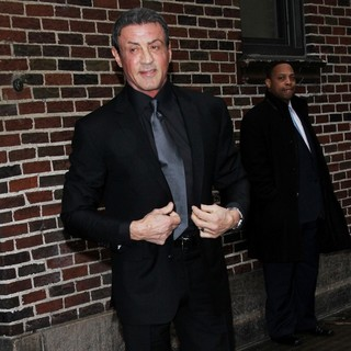 Sylvester Stallone - Sylvester Stallone for The Late Show with David Letterman