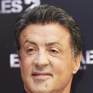 Sylvester Stallone in The Expendables 2 Photocall
