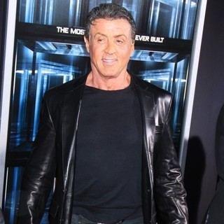 Sylvester Stallone in New York Movie Premiere for Escape Plan
