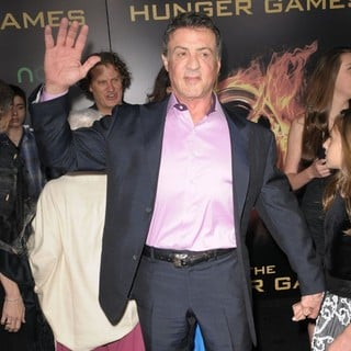 Sylvester Stallone in Los Angeles Premiere of The Hunger Games - Arrivals