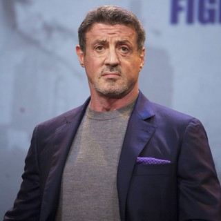 Sylvester Stallone in Press Conference for Rocky - Das Musical