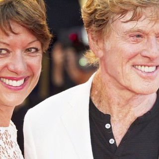 Sibylle Szaggars, Robert Redford in The 69th Venice Film Festival - The Company You Keep - Premiere - Red Carpet