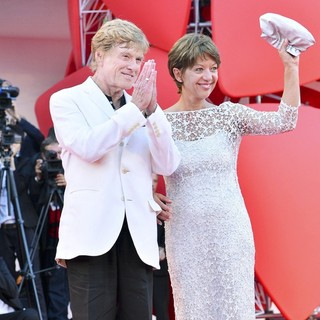 Robert Redford, Sibylle Szaggars in The 69th Venice Film Festival - The Company You Keep - Premiere - Red Carpet