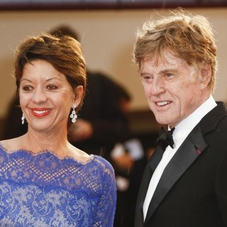Sibylle Szaggars, Robert Redford in 66th Cannes Film Festival - All Is Lost Premiere